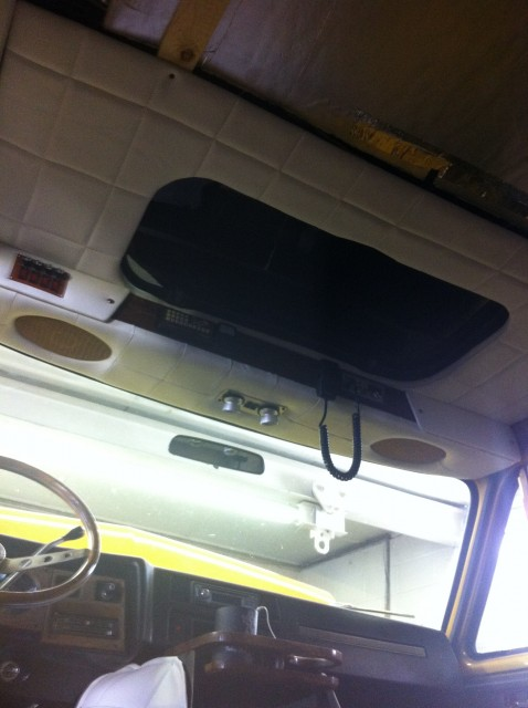 Cab Headliner Installed